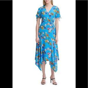 NWT Calvin Klein A Symmetrical midi Dress Size 12